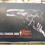 Terry Fox is alive and well in India, or at least his memory is! (for your Canadians)