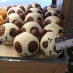 Chocolate racoon bread (NT$37/US1.30) in a fancy bakery