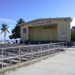 Hollywood Beach Theatre right by the beach in one of several parks