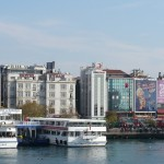 Kadiköy near ferry terminal (with big bus station next door)