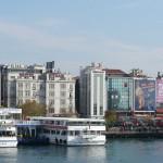 Kadiköy near ferry terminal (with big bus station next door)