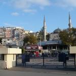 Üsküdar looking from inside ferry terminal courtyard