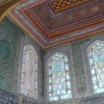 Riot of colours in the harem at Topkapi palace