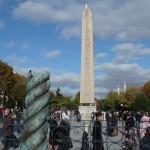 Obelik in the hippodrome (plus broken spiral column in foreground)