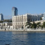 Dolmabaçe Palace - 600m long! Walkable from the end of the tram line (on European side)