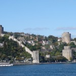 Rumeli Hisarı - the fortress of Europe at the narrowest point of the Bosphorus, opposite the Anadolu Hisarı (fortress of Asia)