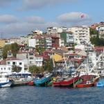 Rumeli Kavaği - with lots of fish restaurants (on European side near northern end)