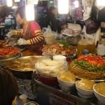 Strange food stall in Gwangjang Market