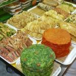 Deep-fried foodsand pancakes (jeon) in Gwangjang Market