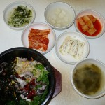 Octopus noodles (plus inc. side dishes)
