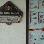 King Ludwig Beerhall in Stanley - long live the king and Oktoberfest!