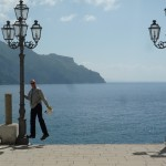 My impression of Gene Kelly singing in the (solar) rain (on the square at the big church in Atrani, looking east)