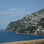 Eastern/back side of Praiano