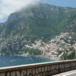 Clearer shot of Positano from the Blue Ribbon highway (looking west)