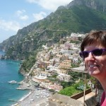 View from rooftop pool deck of our Positano Hotel