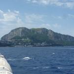 Capri from ferry